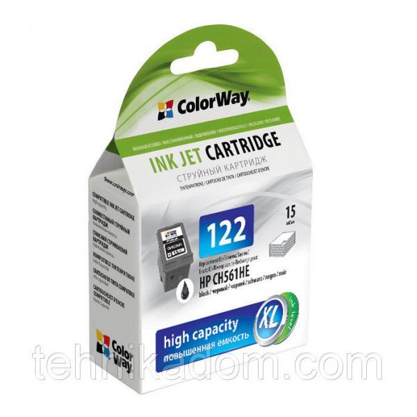 Картридж HP CH561HE CW-H122XLB (ink level) Black