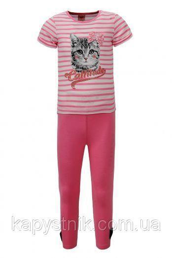 Трикотажный комплект для девочки Glo-Story:GLT-1533 розовый