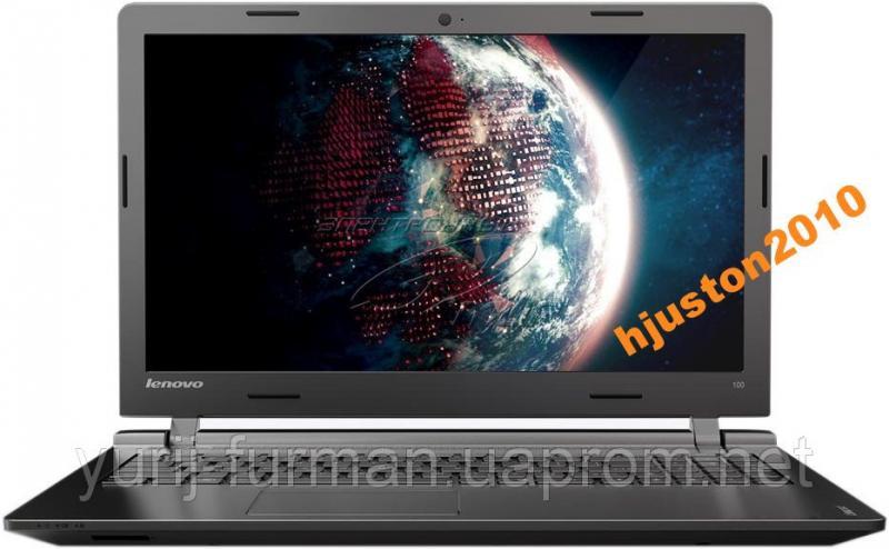 Ноутбук Lenovo IdeaPad 100-15 (80MJ003WUA) Black