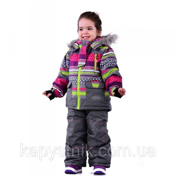 Зимний термокомбинезон Ski tour для девочки р.98-158 ТМ Pidilidi-Bugga (Чехия)