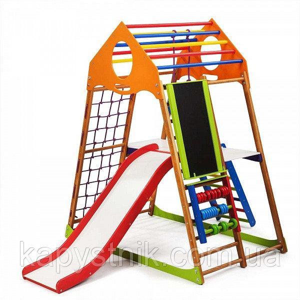 Детский спортивный комплекс ТМ SportBaby: «KindWood Plus 3» (Украина)