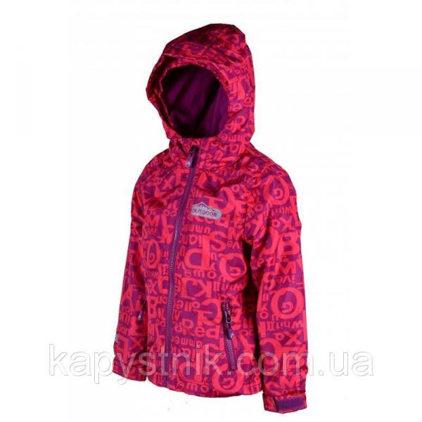 Демисезонная термокуртка OUTDOOR для девочки р.116-146 ТМ PIDILIDI (Чехия) красный