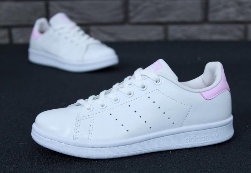 Фото  Adidas Stan Smith White Pink (36-40)
