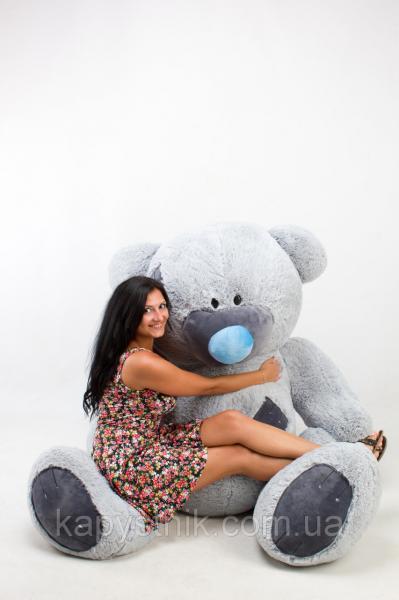 Большой плюшевый медведь Гриша размер 250см ТМ TeddyBoom (Украина)  много расцветок
