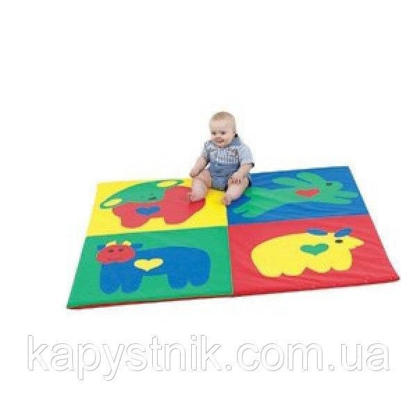 Развивающий мат-коврик Сафари ТМ Тia-sport Тиа-Спорт: sm-0189 (Украина)