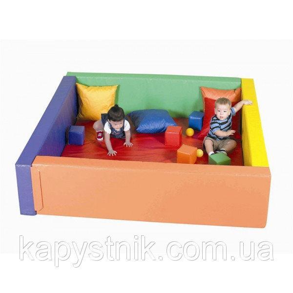 Сухой бассейн с матом 150-150-40 см ТМ Тia-sport Тиа-Спорт: sm-0203 (Украина)