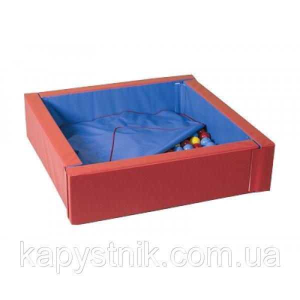 Сухой бассейн с матом 110-110 см ТМ Тia-sport Тиа-Спорт: sm-0202 (Украина)