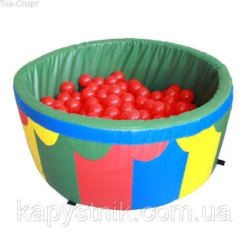 Сухой бассейн для дома с шариками 100*40*5 см ТМ Tia-Sport Тиа-Спорт: sm-0198 (Украина)