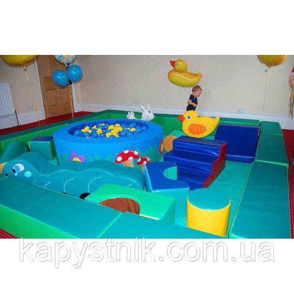 Детская игровая комната 300*300*50 см ТМ Тia-sport Тиа-Спорт: sm-0016 (Украина)