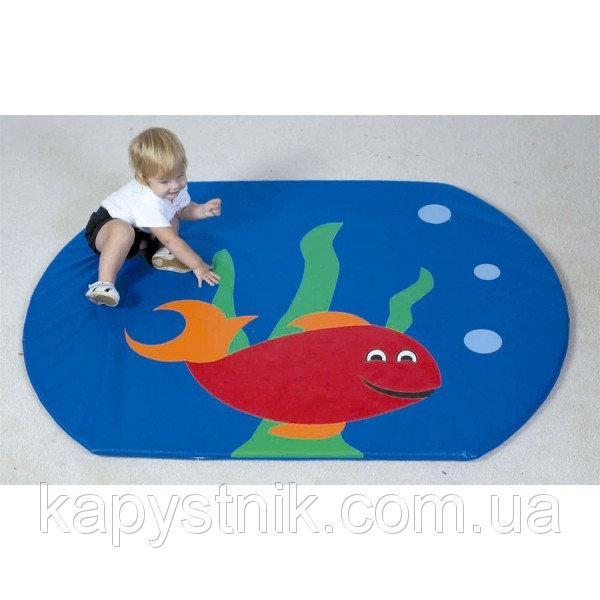 Детский мат-коврик для развития Рыбка ТМ Тia-sport Тиа-Спорт: sm-0020 (Украина)