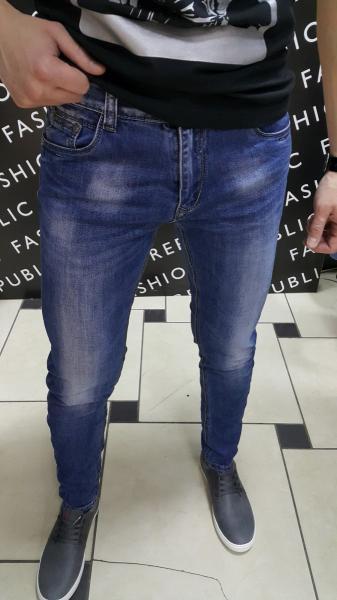 Джинсы мужские FR 103400 синие