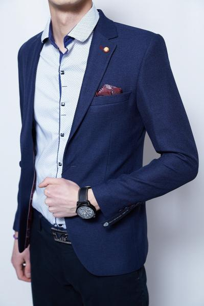 Пиджак мужской PS 2266 синий