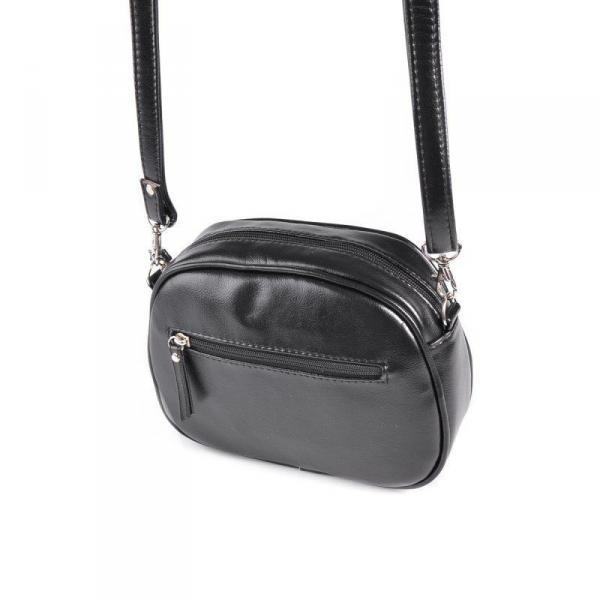 Фото Сумки, кошельки, Женские сумки Мини-сумочка круглой формы М174-Z/лак