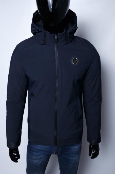 Куртка мужская зимняя Sls 15350_1 синяя