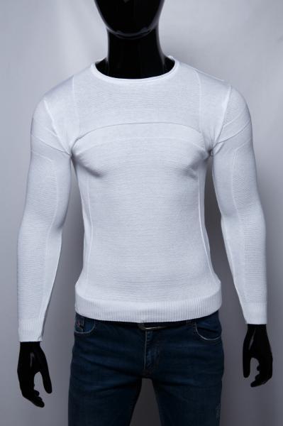 Свитер мужской Figo 10106_3 белый