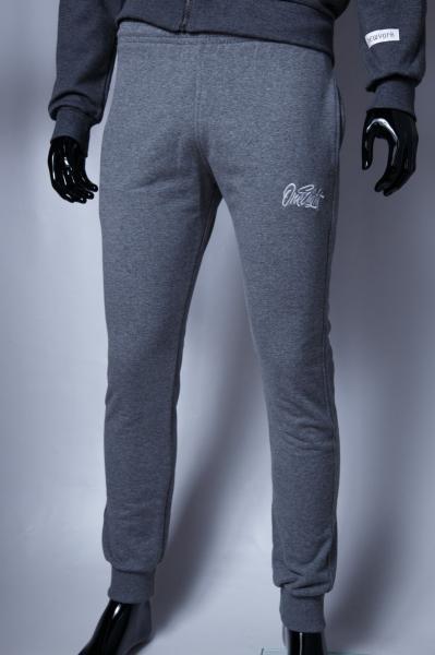 Спортивные штаны мужские UP 9914 серый меланж реплика
