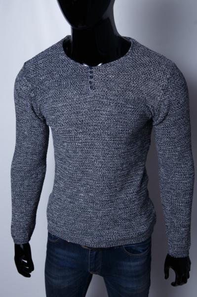 Свитер мужской Figo 1548_2 серый