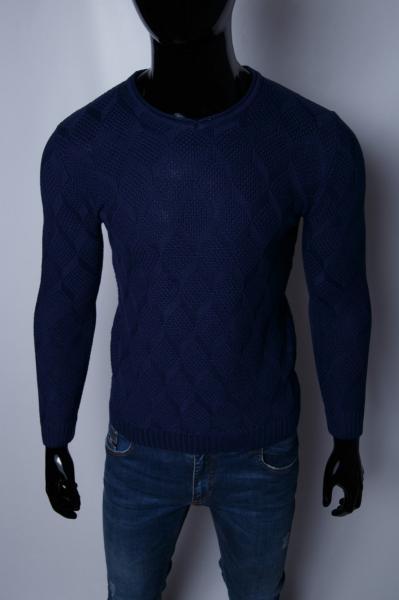 Свитер мужской FR 9401 синий