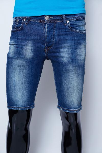 Шорты мужские джинсовые Philipp Plein 9961 синие реплика