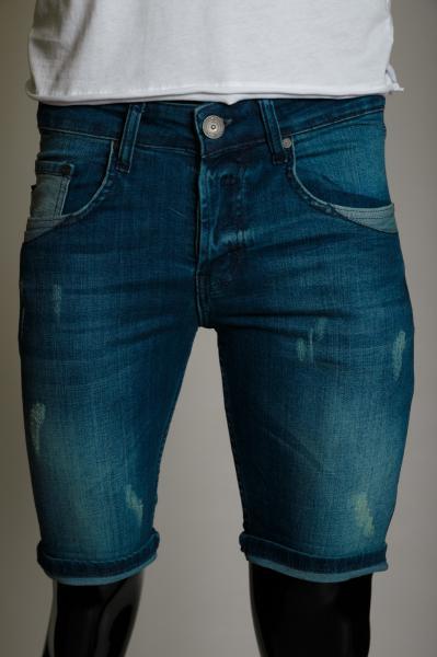 Шорты мужские джинсовые PS 98602 синие