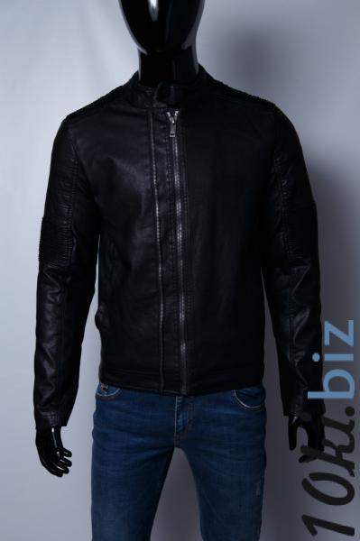Куртка мужская демисезонная кожзам GS 067740 черная Куртки мужские в ТРЦ Космополит в Киеве