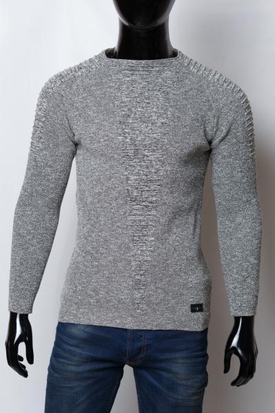 Свитер мужской CC 1550 серый
