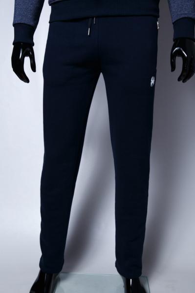Спортивные штаны мужские утепленные Barbarian 7966 синие