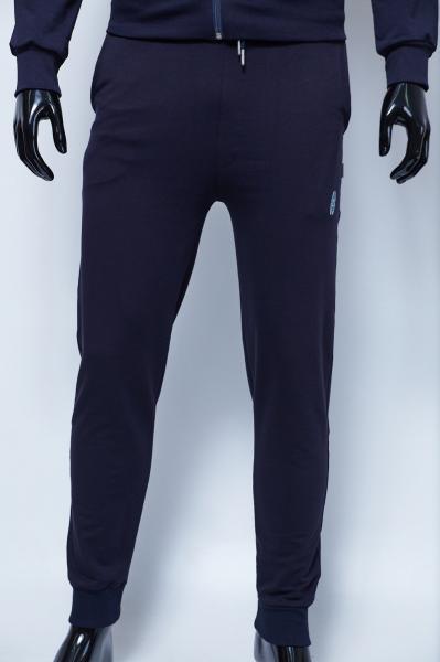Спортивные штаны мужские трикотажные на манжете Barbarian 070 синие