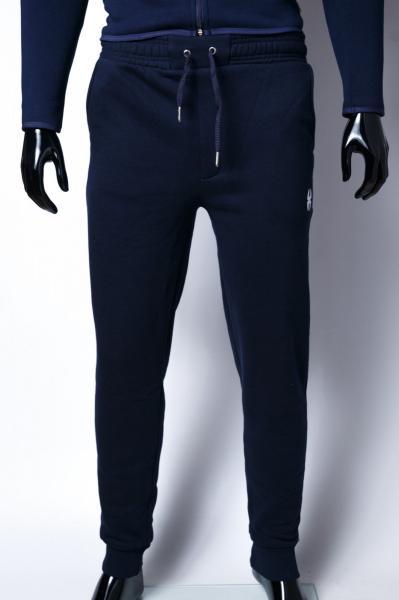 Спортивные штаны мужские утепленные манжет Barbarian 7967 синие