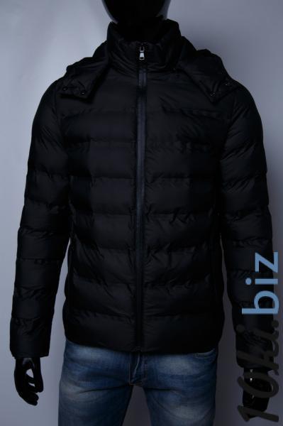 Пуховик мужской GS 112714039_b батал био-пух черный Куртки мужские в ТРЦ Космополит в Киеве