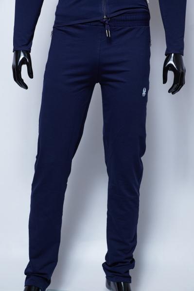 Спортивные штаны мужские Barbarian 279967 полу-батал синие большой рост