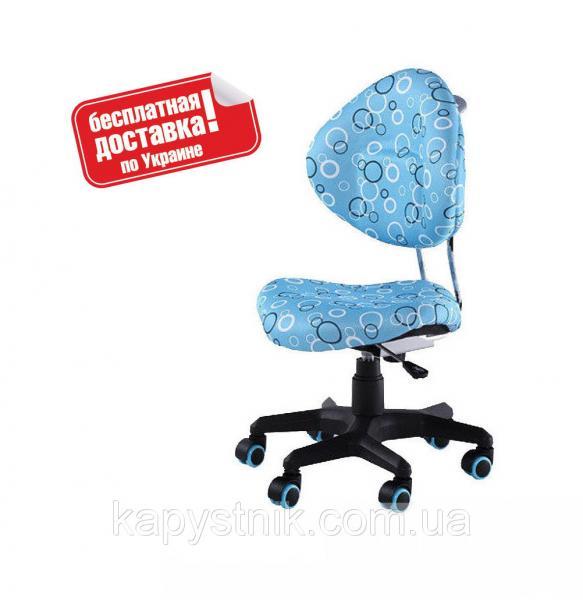 Ортопедическое компьютерное кресло для мальчика ТМ FunDesk SST5 Blue