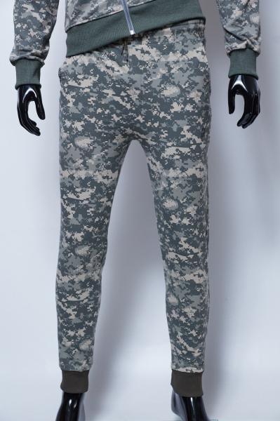 Спортивные штаны мужские трикотаж на манжете Barbarian 379967_2 пиксель