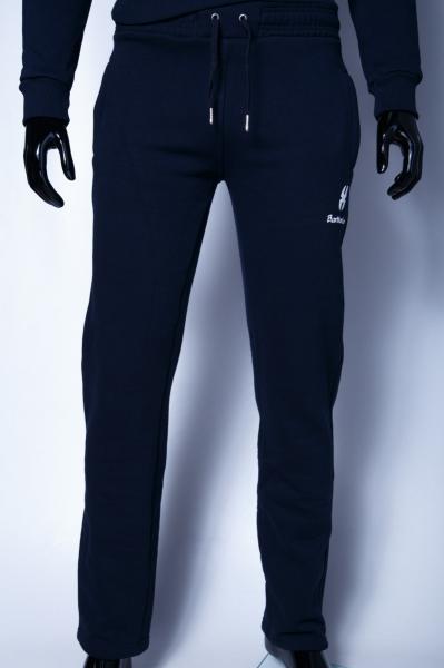 Спортивные штаны мужские утепленные Barbarian 7965 батал синий
