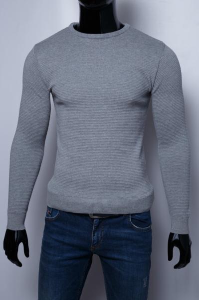 Свитер мужской Figo 10107_2 серый