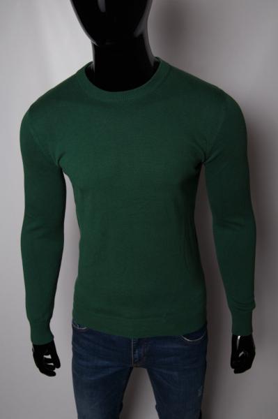 Свитер мужской однотонный GS 152644888_8 зеленый