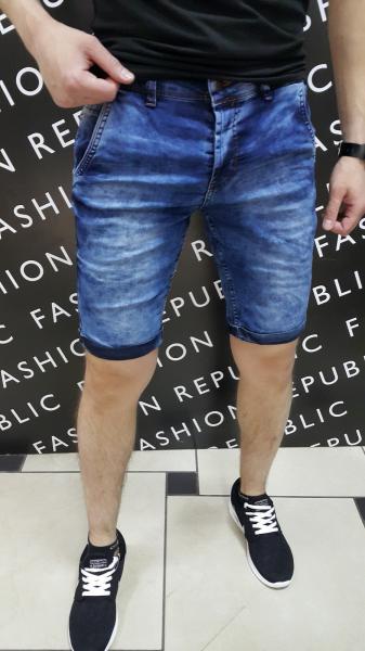 Шорты мужские джинсовые FR 092742 синие