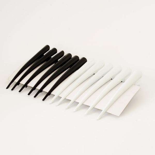 Зажим  для  волос  стрела  12,8 см. ( 2 цвета  по  6 шт.)  Упаковка  12  шт .