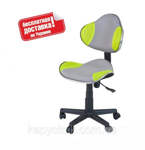 Детское компьютерное кресло ТМ FunDesk LST3 Green-Grey