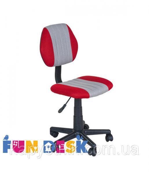 Детское компьютерное кресло ТМ FunDesk LST4 Red-Grey