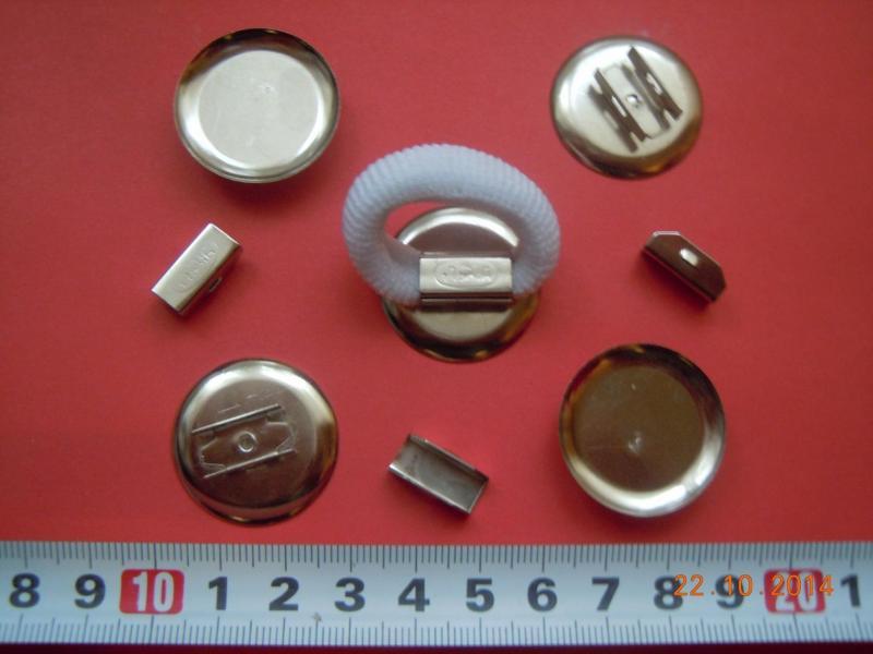 Металическая  основа для резинки диаметр  2,4  см.