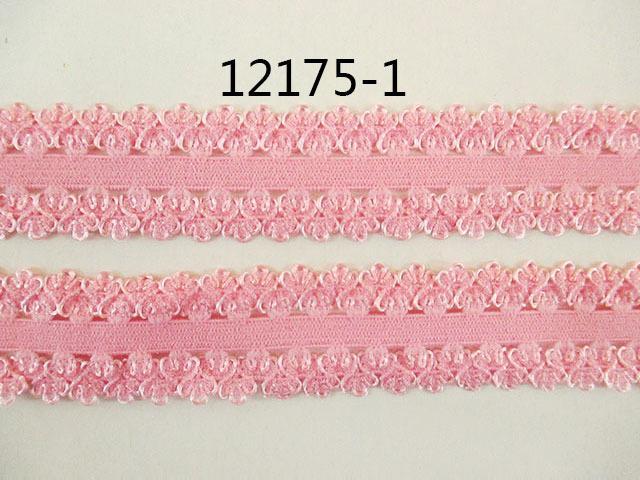 Фото Кружево ,тесьма ,сетка,резинка, Резинка для повязок, резинка простая. Тесьма - резинка 22 мм. для повязочек .  Розового  цвета .