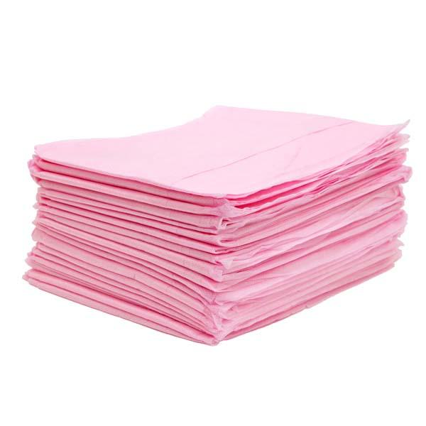 Простыни спанбонд люкс 200*70, розовый, 10 шт/уп