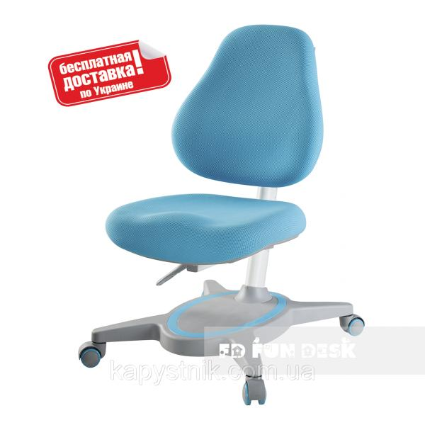 Компьютерное ортопедическое кресло ТМ FunDesk Primavera I Blue