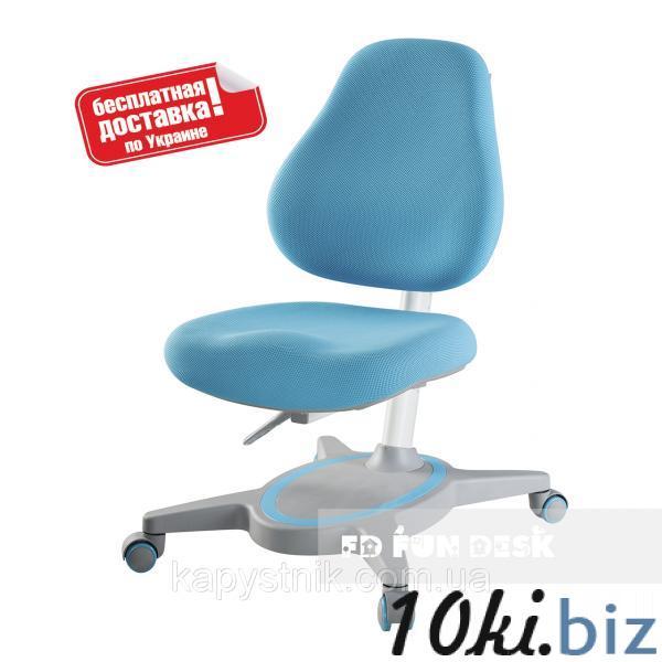 Компьютерное ортопедическое кресло ТМ FunDesk Primavera I Blue Компьютерные детские кресла на Электронном рынке Украины