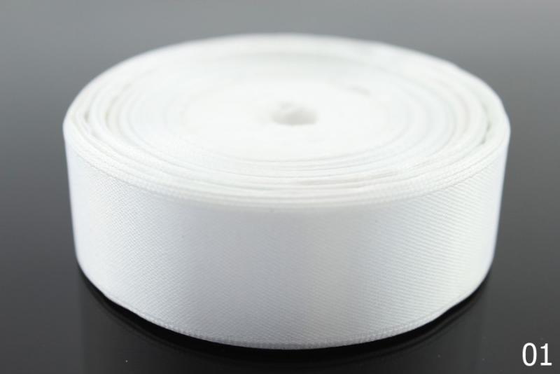 Фото Ленты, Лента атласная однотонная 2,5 см Лента  атласная  2,5 см.   Белого  цвета.