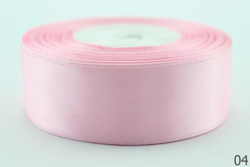 Лента  атласная  2,5 см.   светло -  Розового  цвета .