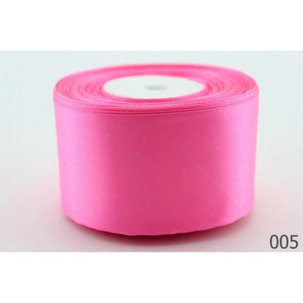 Фото Ленты, Лента атласная   однотонная ,5см Атласная лента 5 см , цвет  розовый