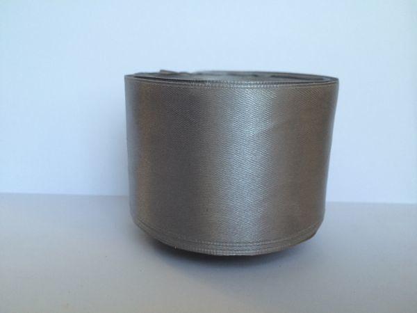 Фото Ленты, Лента атласная   однотонная ,5см Атласная лента 5 см , цвет  Серый.