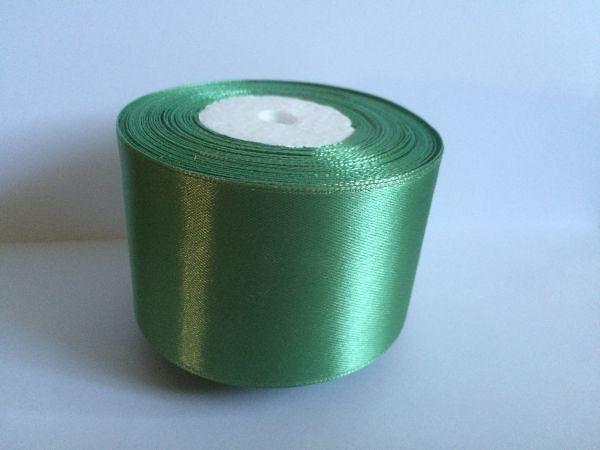 Фото Ленты, Лента атласная   однотонная ,5см Атласная лента 5 см , цвет  Мята.